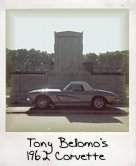 Photo Of Tony Bellomo's 1962 Corvette