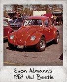 Photo Of Egon Admann's 1969 VW Beetle