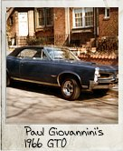 Photo Of Paul Giovannini's 1966 GTO