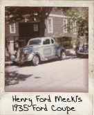 Photo Of Henry Ford Meckl's 1935 Ford Coupe