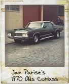 Photo Of Jan Parise's 1970 Olds Cutlass