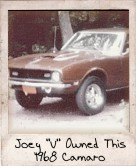 Photo Of Joey V Owned This 1968 Camaro