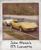 Photo Of John Mana's 1971 Corvette