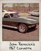 Photo Of John Rerecich's 1967 Corvette