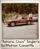 Photo Of Astoria Chas Snyder's Ko-Motion Corvette