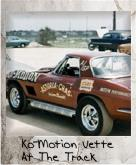 Photo Of Ko-Motion Corvette at The Track