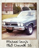 Photo Of Michael Levy's 1968 Chevelle SS
