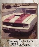 Photo Of Manny Polyezos 1969 Camaro
