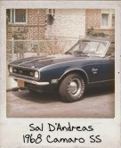 Photo Of Sal D'Andreas 1968 Camaro