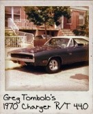 Photo Of Greg Tombolo's 1970 Charger R/T 440 Six Pack