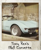 Photo Of Tony Rex's 1968 Corvette