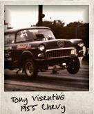 Photo Of Tony Visentin's 1955 Chevy