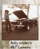 Photo Of Andy Weider's 1967 Camaro