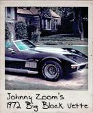 Photo Of Johnny Zoom�s Big Block Vette